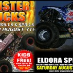Monster Trucks at Eldora This Saturday Night
