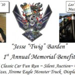 "1st Annual Jesse ""Twig"" Barden Memorial Benefit To Be Held June 26th"
