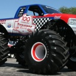 The new look Firestone BIGFOOT that will debut at the 2011 Indianapolis 500.