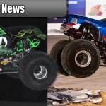 GRAVE DIGGER Versus BIGFOOT at South Boston Speedway on October 1st