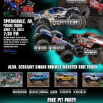 Monster Truck Racing Super Series Returns to Springdale, Arkansas This Weekend