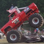 Monster Photos: Old School Monster Truck Thrill Show – Willard, OH 2012