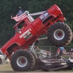 Monster Photos: Old School Monster Truck Thrill Show – Willard, OH 2012