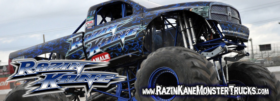 Razin Kane Monster Trucks