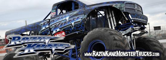 Razin Kane Monster Trucks
