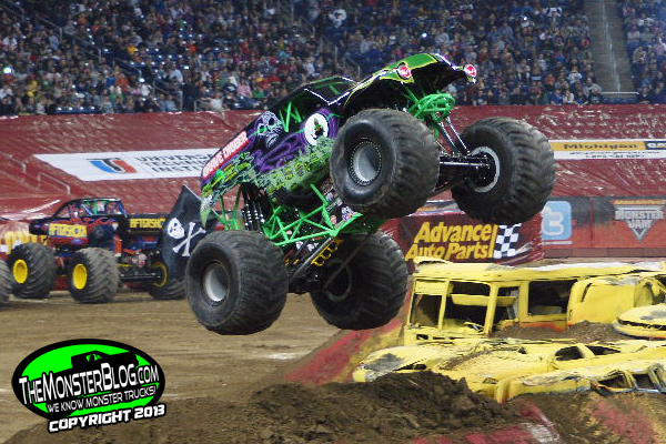 "After one month, ""the new guy"" to Team Grave Digger, Jon Zimmer, is leading the Road to the World Finals!"
