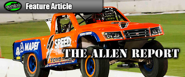 The Allen Report: Stadium Super Trucks - Los Angeles, CA 2013