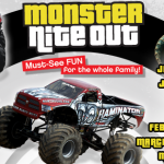 """Monster Nite Out"" On The 2014 Lucas Oil Monster Truck Nationals Tour"