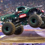 Amalie Oil X-Termigator Debuts at Houston Monster Jam